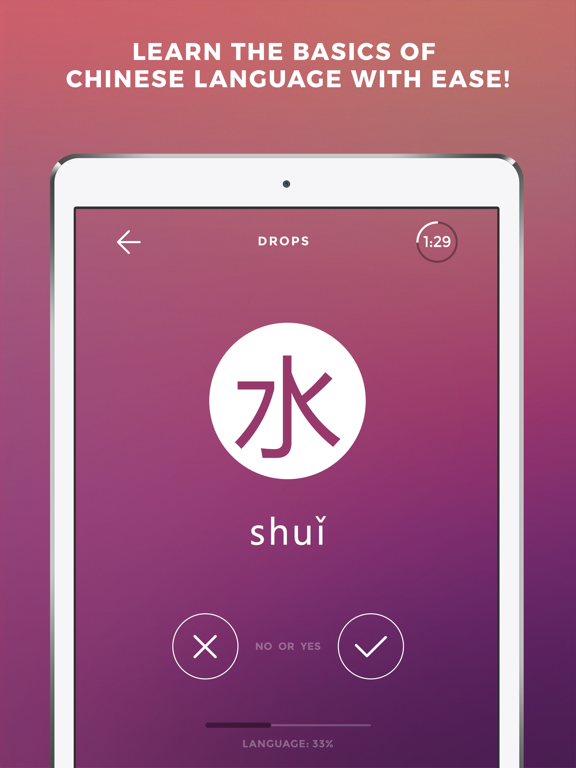Learn Chinese language - Drops | App Price Drops