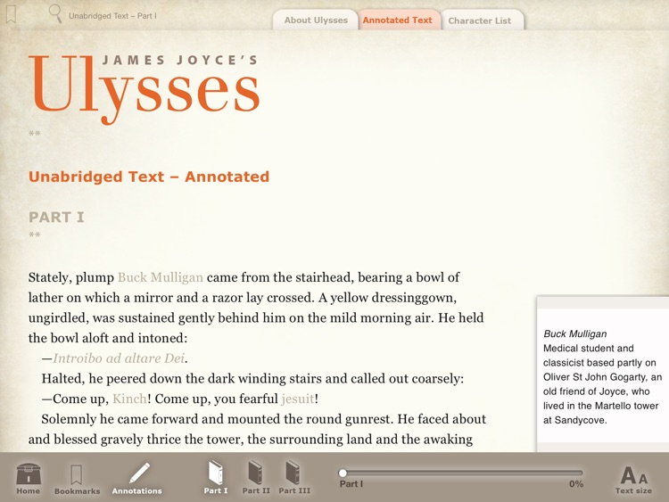 Joyce's Ulysses: A Guide screenshot-1