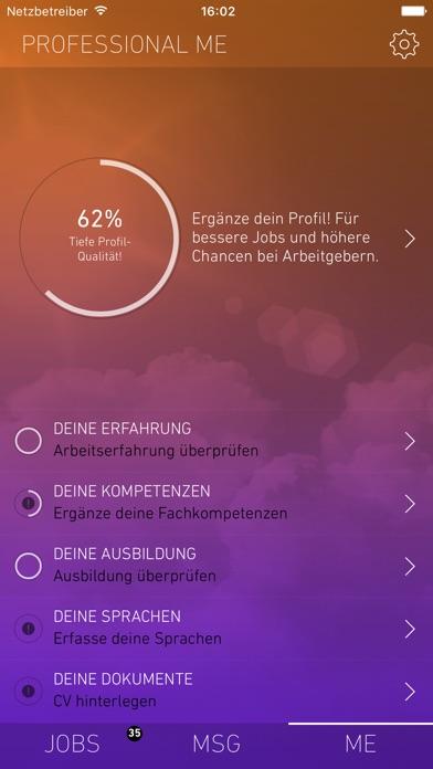 yooture JobsucheScreenshot von 4