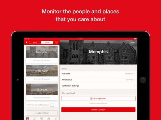 Hurricane: American Red Cross iPad