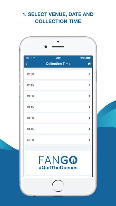 FanGo screenshot one