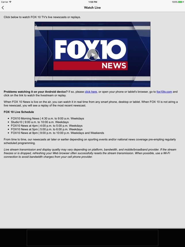 FOX10 News Mobile Alabama WALA on the App Store