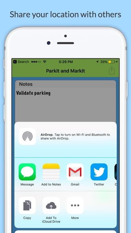 ParkIt and MarkIt screenshot-4