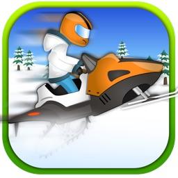 Power Sled Ice Racing