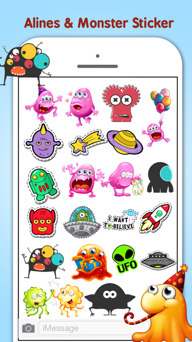 Monster Aliens & Ufo's screenshot one