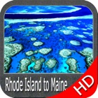 Rhode Island to Maine HD chart icon