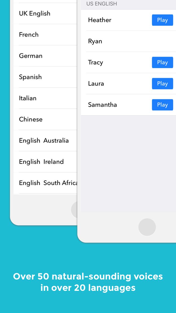 NaturalReader Text to Speech Screenshot