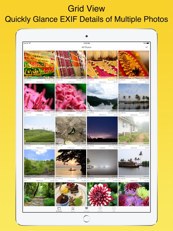 Screenshot #4 for EXIF Viewer by Fluntro