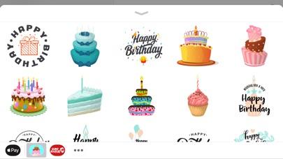Happy Birthday Cake Stickers App Price Drops