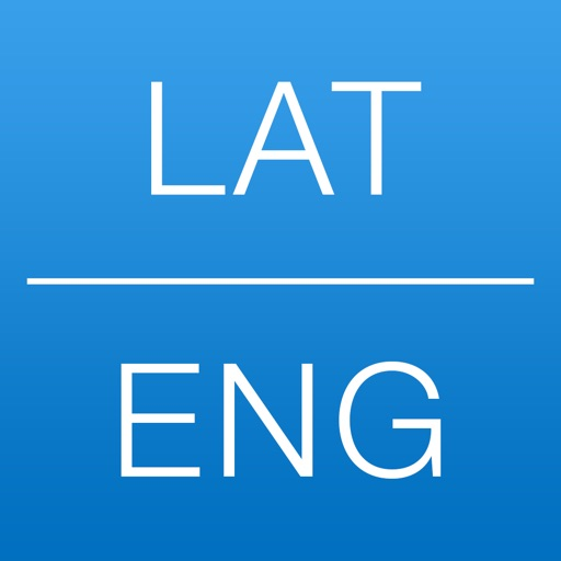 Dictionary Latin English