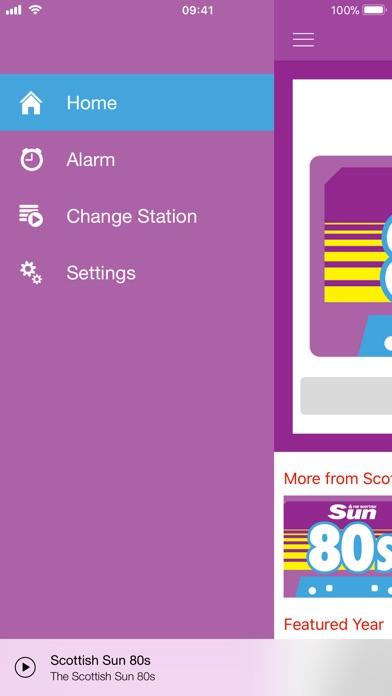 Scottish Sun Radio Screenshot on iOS
