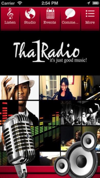 Screenshots for tha1radio