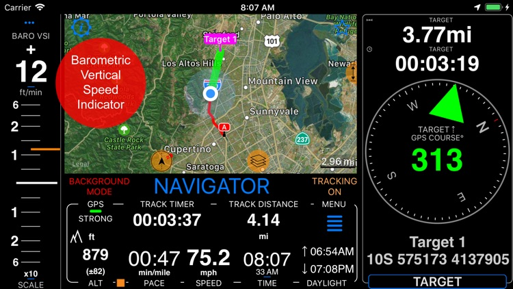 Compass 55. Map & GPS kit. screenshot-9