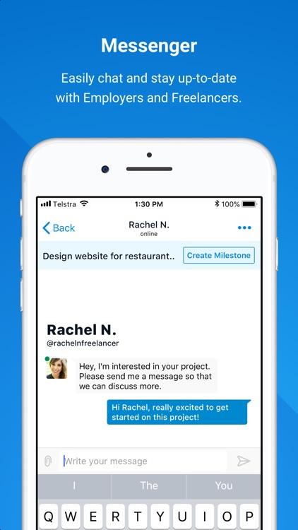 Freelancer - Hire & Find Jobs screenshot-3