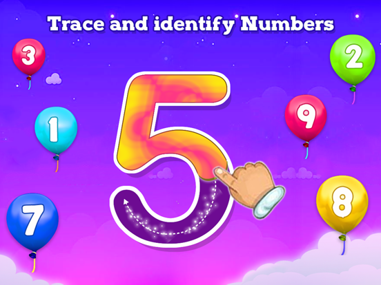 123 Counting & Tracing Numbers screenshot 5