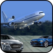 Airplane Jet Car Simulator 3D