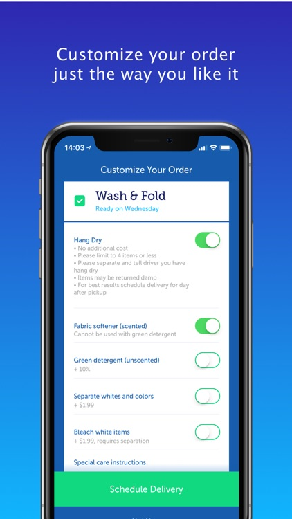 FlyCleaners Laundry On-Demand
