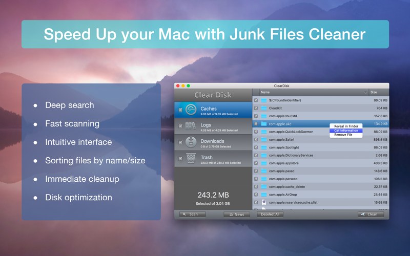 how to clear disk space