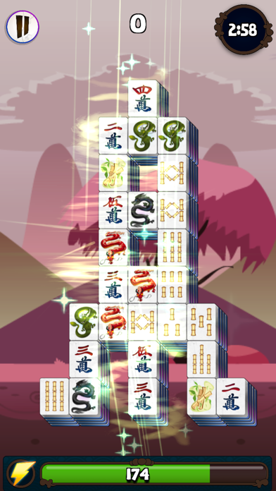 3 Minute Mahjong screenshot 2