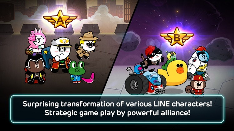 LINE Rangers screenshot-1