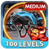 City Cycle Hidden Objects Game