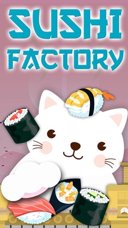 Cat 's sushi factory game screenshot-0