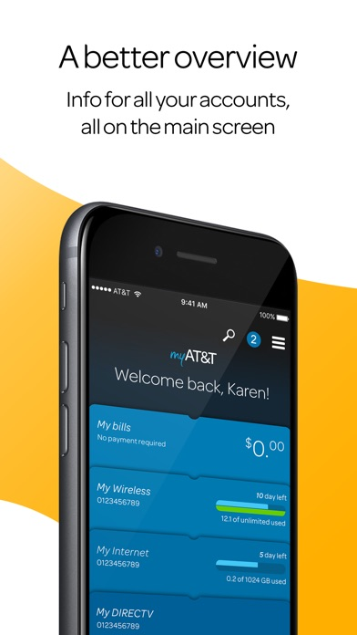 myAT&T iPhone