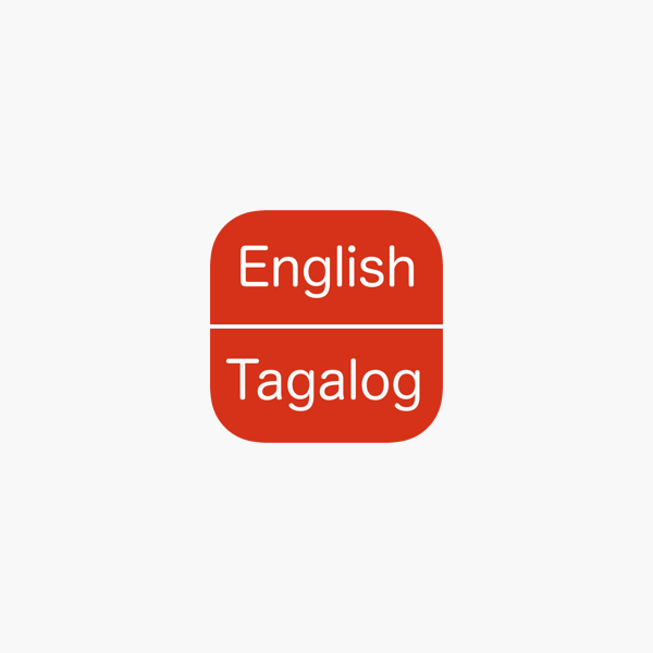 English To Tagalog Dictionary on the App Store