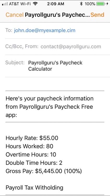 PaycheckFree screenshot-3