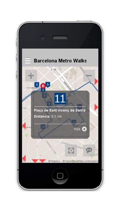 Barcelona Metro Walks - EN screenshot three