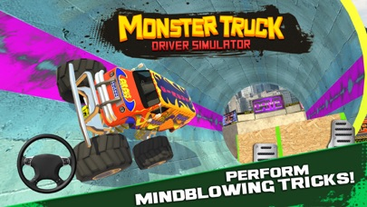 Screenshot from Monster Truck Driver Simulator