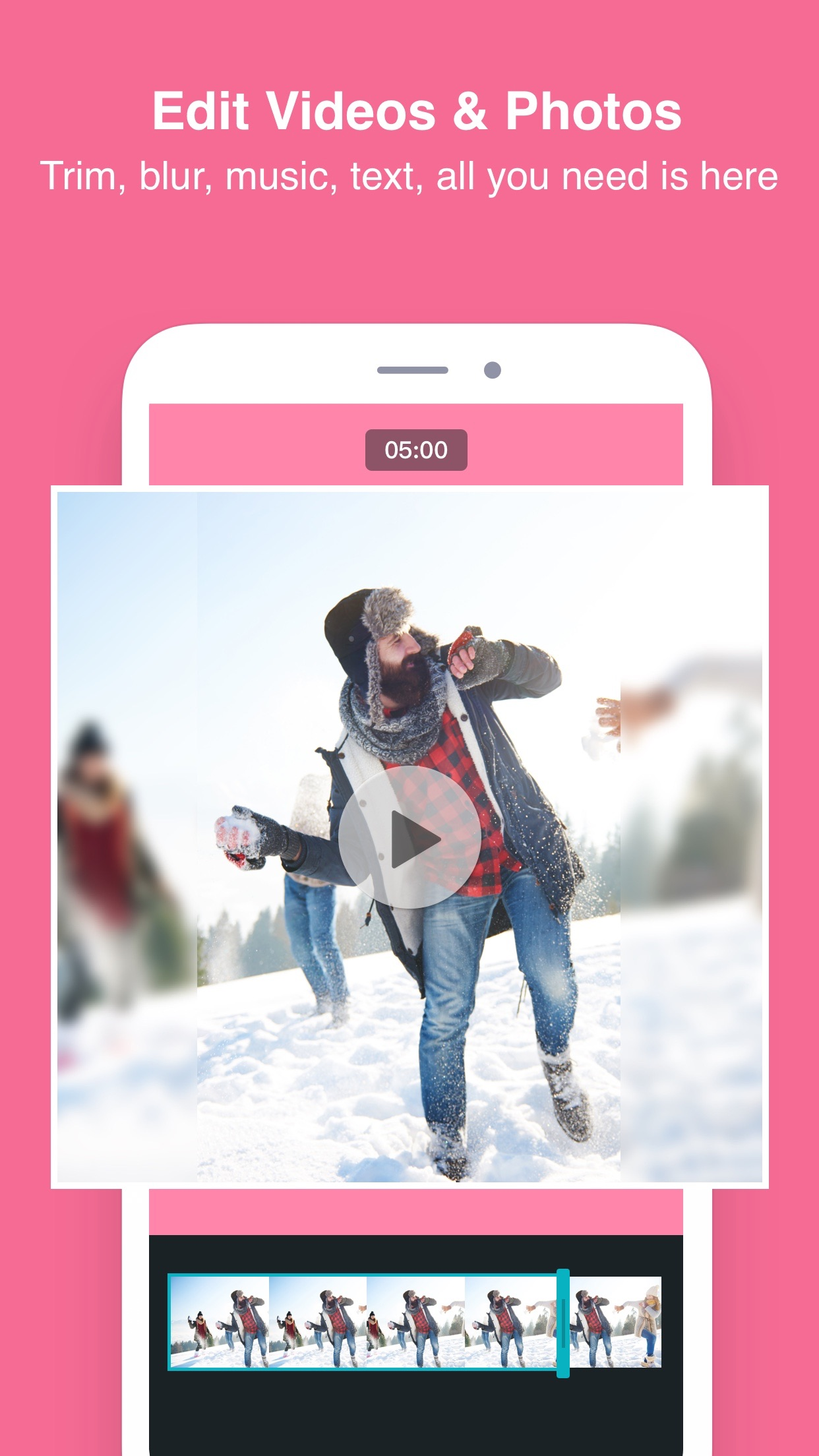 PhotoGrid - Video & Pic Editor Screenshot