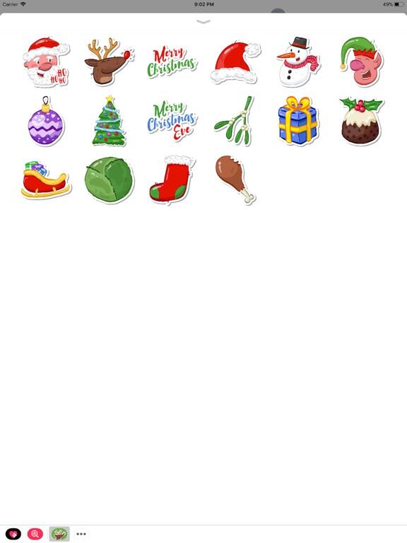 Festive Christmas Stickers screenshot 3