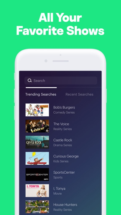 Screenshot of Hulu: Watch TV Shows & Movies App