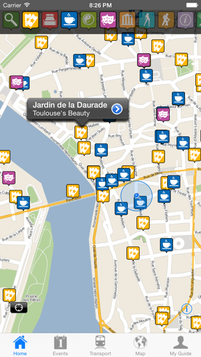Toulouse Travel Guide Offline screenshot one