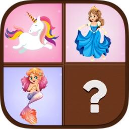 Memory princesses Memo game