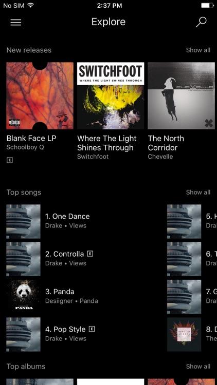 Microsoft Groove screenshot-3