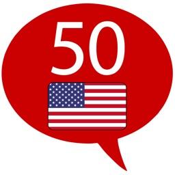 Learn English US -50 languages
