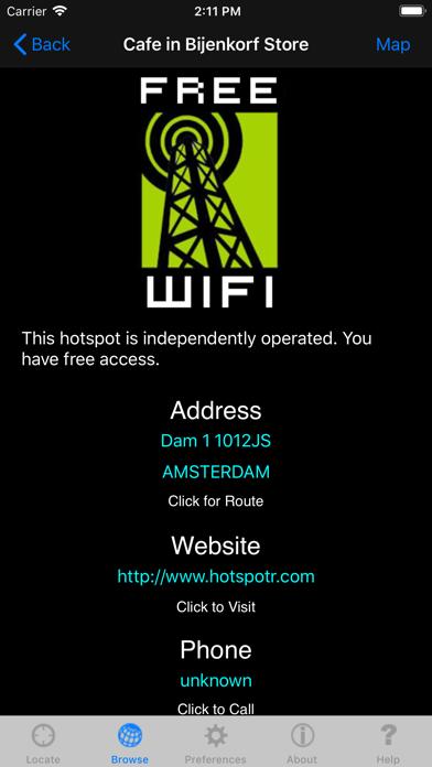 Free Wifi review screenshots