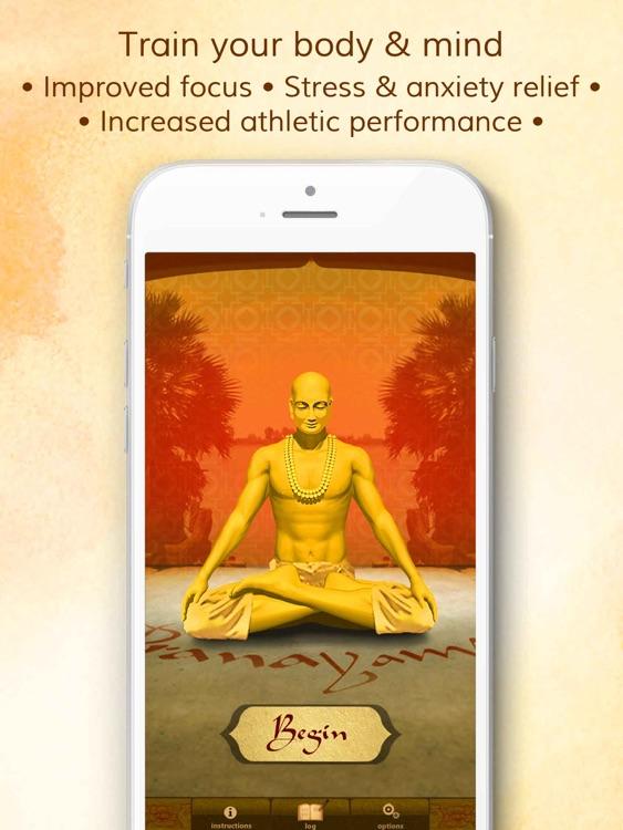 Health through Breath - Pranayama HD screenshot-0