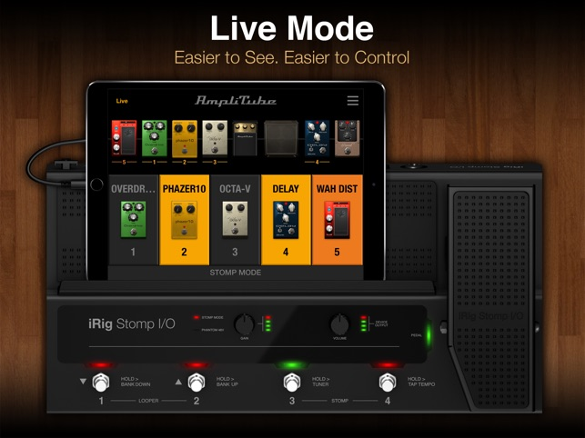amplitube for ipad on the app store rh itunes apple com Basic iPad Users Manual amplitube app user manual