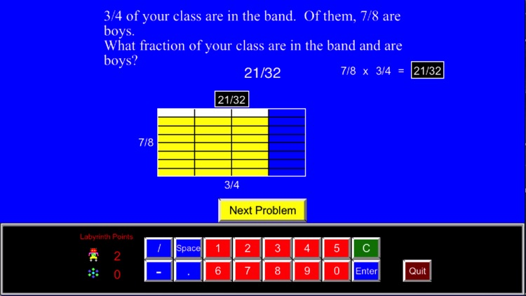 Math Galaxy Fractions Fun screenshot-3