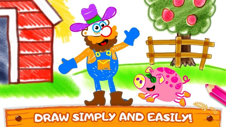 Bini Coloring & Drawing Games screenshot-4