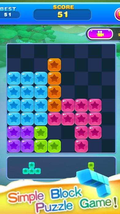 Block Star Puzzle screenshot one