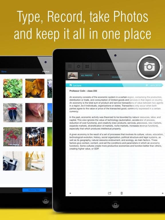 Super Notes: Recorder, Note, Memos, Photos. Notebook plus Notepad. free. screenshot