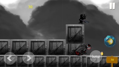 Black Panther Runner Shooter Screenshot 4
