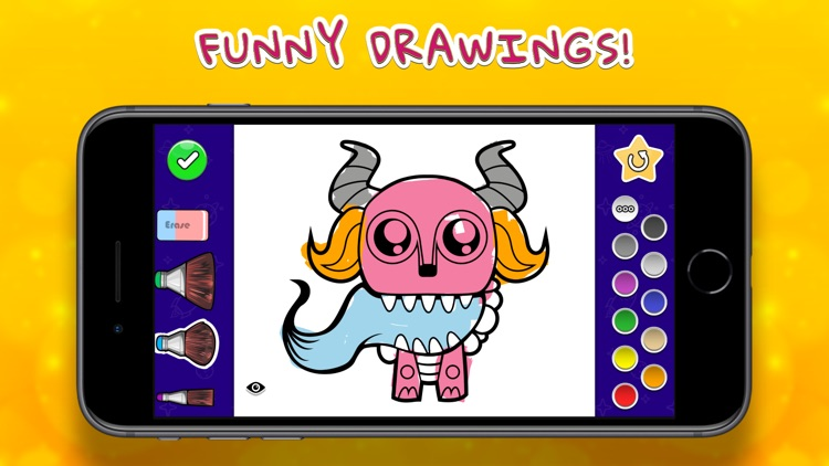 Coloring Your Monsters screenshot-0