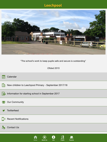 Leechpool Primary School screenshot 1