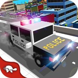 Blocky Police Super Heroes