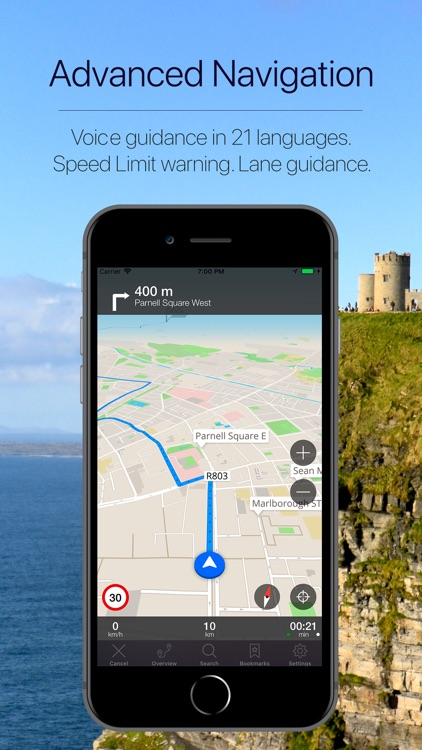 Ireland Offline Navigation screenshot-3